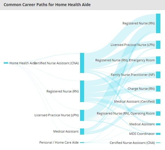 Common Career Paths for Home Health Aide